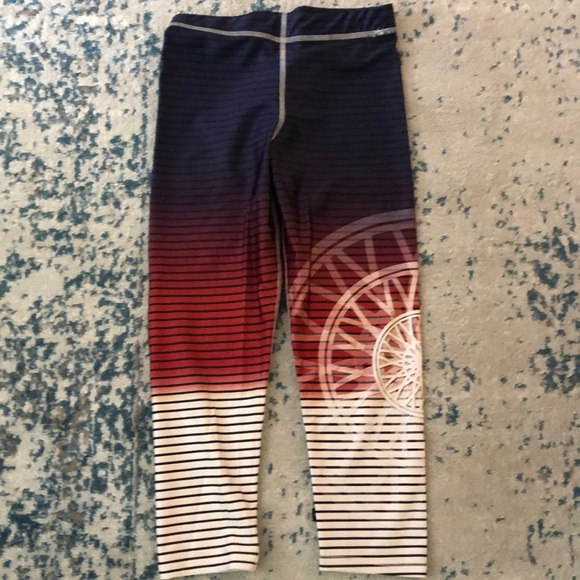 Zara Terez Pants - Zara terez Soulcycle striped leggings size medium